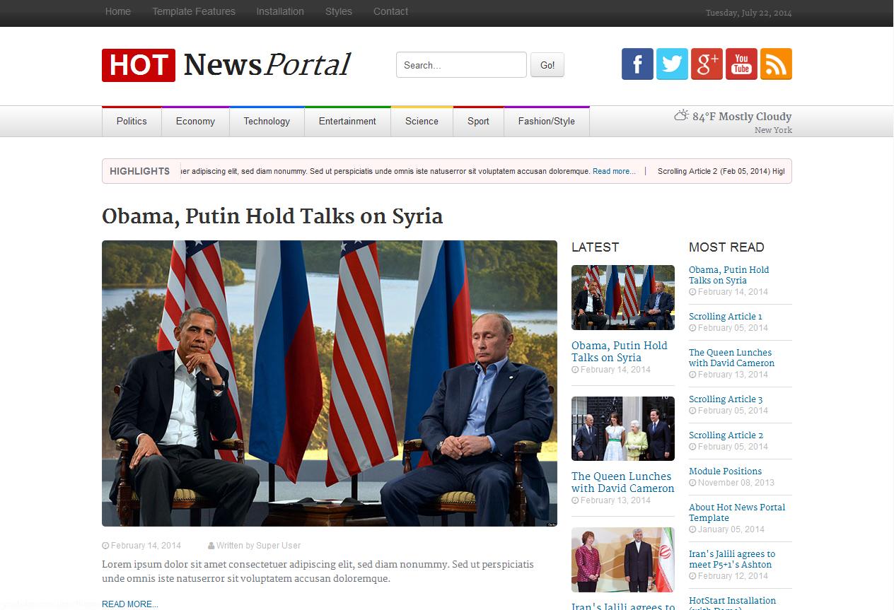 HOT NEWS PORTAL1