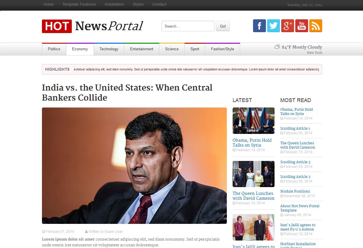HOT NEWS PORTAL2