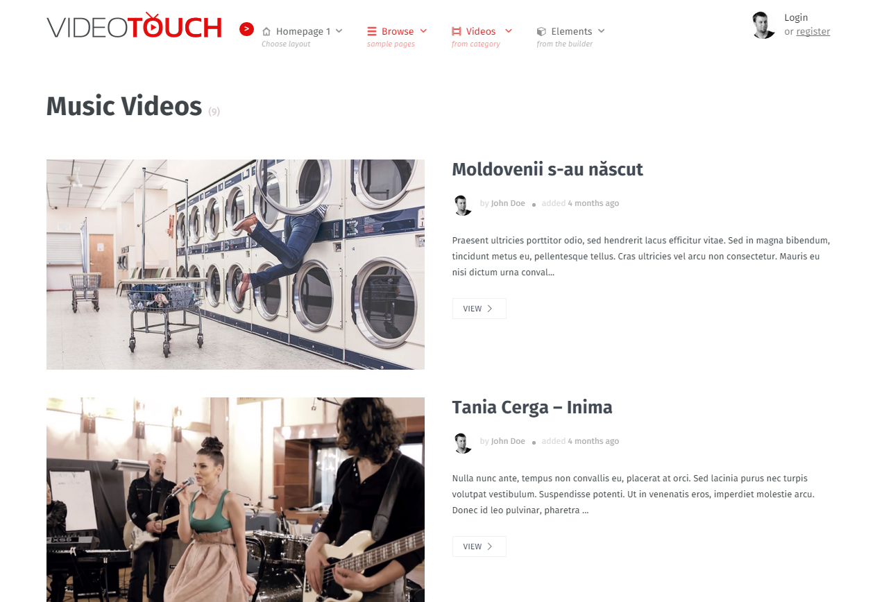 VIDEOTOUCH4